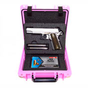 "Quick Fire Multifit™ Pistol Case QF345PK Watertight, 10-11/16""x9-3/4""x4-13/16"" Pink"