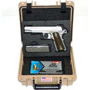 """Quick Fire Multifit™ Pistol Case QF345TN Watertight, 10-11/16""""x9-3/4""""x4-13/16"""" Tan"""