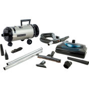 MetroVac Portable Roll-A-Round 2-Speed Canister Vac/Blower with HEPA Filter - OV4PNHSNBF