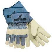 Grain Leather Palm Gloves, Memphis Glove 1935m, 12-Pair