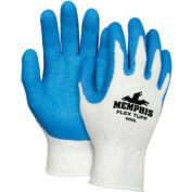 Premium Latex Coated String Gloves, Memphis Glove 9680m, 1-Pair