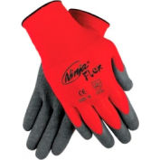 Ninja Flex Latex Coated Palm Gloves, MEMPHIS GLOVE N9680L, 1-Pair