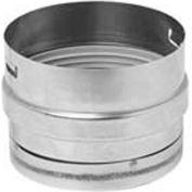 "Metal-Fab CorrGuard® Tee Cap W/O Drain Fitting, 5CGVSWTCN, 5"" Dia, S/S, Single Wall, 3.06""H"