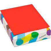 "Mohawk BriteHue Multipurpose Colored Paper 471608, 8-1/2"" x 11"", Red, 500 Sheets/Ream"