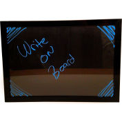 "Mystiglo Edgelit Write On Menu Board - 23-1/2""W x 16-1/2""H"