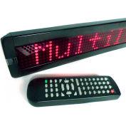 "Mystiglo Scrolling Messenger LED Sign - 26""W x 4""H"