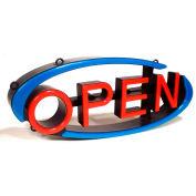 "Mystiglo Large Arch Swivel Open LED Sign - 26-1/2""W x 10""H"