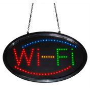 "Mystiglo Wi-Fi LED Dot Sign - 24""W x 14""H"