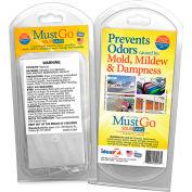 MustGo® Odor Eliminator Solid Bars - 2 Bar Pack - Pkg Qty 24