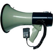 25 Watt Piezo Dynamic Megaphone With Built-In Siren & Hand-Held Mic