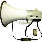 45 Watt Piezo Dynamic Megaphone With Built-In Siren & Hand-Held Mic
