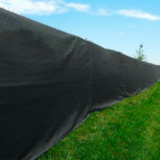 Xtarps, MN-PF90-B1024, 90% Blockage, Premier Privacy Fence Screen, 10'W x 24'L, Black