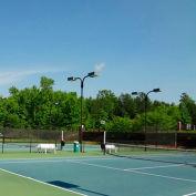 Xtarps, MN-TM-0610, Premium Tennis Court Wind Screen/Mesh, 6'W x 10'L, Black