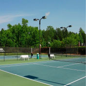 Xtarps, MN-TM-0660, Premium Tennis Court Wind Screen/Mesh, 6'W x 60'L, Black
