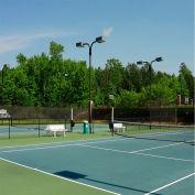 Xtarps, MN-TM-B0610, Tennis Court Wind Screen, 6'W x 10'L, Black