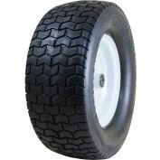 "Marathon Flat Free Tire 30454P - 16x6.50-8 Turf Tread - 3"" Centered - 3/4"" Bushings"