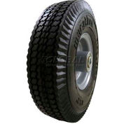 "Marathon 33102 8x2 Flat Free Sawtooth Tread - 2.375"" Centered Hub - 1/2"" Bearings"