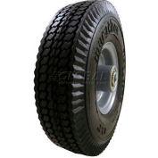 "Marathon 33102 8x2 Flat Free Sawtooth Tread - 2.375"" Centered Hub - 1/2"" Bearings"