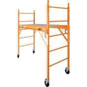 "Metaltech Steel Maxi Drywall Baker Scaffold 73""L x 29""W x 74""H - I-CISC"