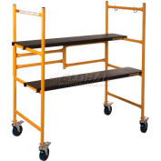 """Metaltech MINI™ Folding Scaffold Step Ladder 39""""L x 21-1/2""""W x 46""""H - I-IMCN"""