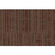 "Mohawk® Aladdin Get Moving Carpet Tile 1T44, Heavy Traffic, 24""L X 24""W, Brick, 18-Tiles"