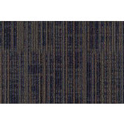"Mohawk® Aladdin Get Moving Carpet Tile 1T44, Heavy Traffic, 24""L X 24""W, Indigo Batik, 18-Tiles"