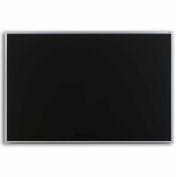 "Marsh 96""x 48"" Black Composition Chalkboard, Aluminum Trim"