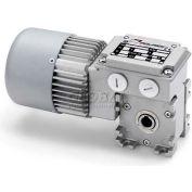 Mini Motor MC165P3 15 B3-Asynchronous single phase worm gear motor totally enclosed