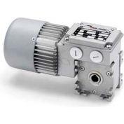Mini Motor MC165P3 7.5 B3-Asynchronous single phase worm gear motor totally enclosed