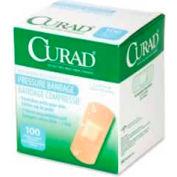 "Pressure Adhesive Bandage, Waterproof, 2.75""L x 1""W, 100BX, WH/Green"