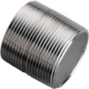 Ss 304/304l Schedule 80 Seamless Extra Heavy Pipe Nipple 3/8xclose Npt Male - Pkg Qty 50