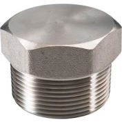 "Ss 316 Barstock Hex Head Plug 1/4"" Npt Male - Pkg Qty 50"