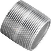 Aluminum Schedule 40 Pipe Nipple 1/2 X Close Npt Male - Pkg Qty 75
