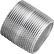 Aluminum Schedule 40 Pipe Nipple 1 X Close Npt Male - Pkg Qty 50