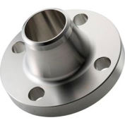 """304 Stainless Steel Class 150 Weld Neck Schedule 40 Bore Flange 1-1/4"""" Female - Pkg Qty 2"""