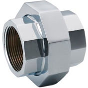 Chrome Plated Brass Pipe Fitting 2 Union Npt Female - Pkg Qty 5