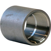 1-1/2 In. 304 Stainless Steel Coupling - FNPT - Class 150 - 300 PSI - Import