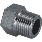 "Iso Ss 304 Cast Pipe Fitting Hex Head Plug 2-1/2"" Npt Male - Pkg Qty 10"