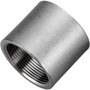 """Iso Ss 316 Cast Pipe Fitting Coupling 1"""" Npt Female - Pkg Qty 25"""