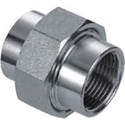 """Iso Ss 316 Cast Pipe Fitting Union 2"""" Npt Female - Pkg Qty 4"""