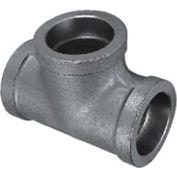 "Mss Ss 316 Cast Pipe Fitting Tee 1-1/2"" Socket Weld Female - Pkg Qty 25"
