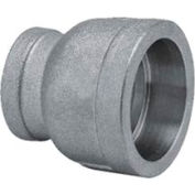 """Mss Ss 316 Cast Pipe Fitting Reducing Coupling 3/4 X 1/2"""" Socket Weld Female - Pkg Qty 25"""