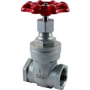 1-1/2 In. Stainless Steel Gate Valve - 200 PSI - Pkg Qty 6