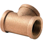 1 In. Lead Free Brass Tee - FNPT - 125 PSI - Import
