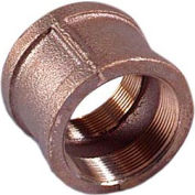 "Brass 125 Lb Lead Free Fitting 3/8"" Coupling Npt Female - Pkg Qty 50"