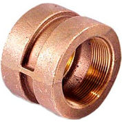 "Brass 250 Lb Lead Free Fitting 1/4"" Coupling Npt Female - Pkg Qty 10"