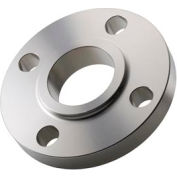 "304 Stainless Steel Class 300 Slip-On Flange 3/4"" Female - Pkg Qty 3"