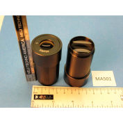Meiji Techno MA501 Super Wide Field 5X Eyepieces (Paired), Field No. 26
