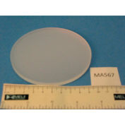 Meiji Techno MA567 Acrylic Frosted Stage Plate, 94.5mm Diameter