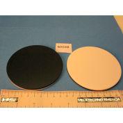 Meiji Techno MA568 Black & White Plastic Stage Plate, 94.5mm Diameter